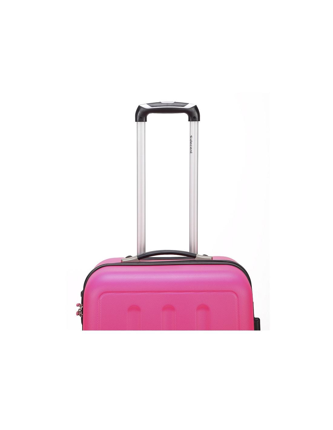 decent neon fix handgep ck trolley 55cm rosa online kopen. Black Bedroom Furniture Sets. Home Design Ideas