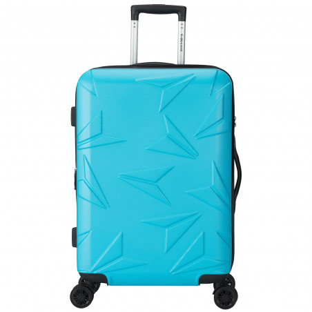 Decent Q-Luxx Koffer 67cm Expandable Blau