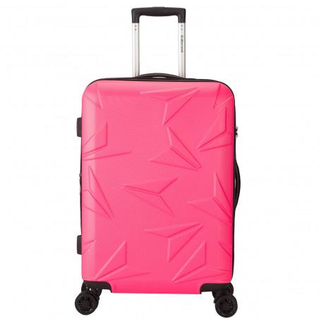 Decent Q-Luxx Koffer 67cm Expandable Rosa