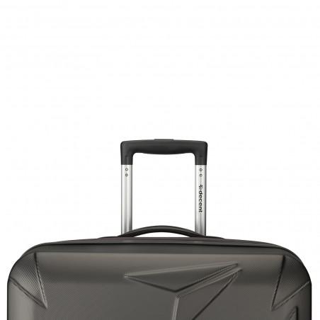 Decent Q-Luxx Koffer 67cm Expandable Antrazit