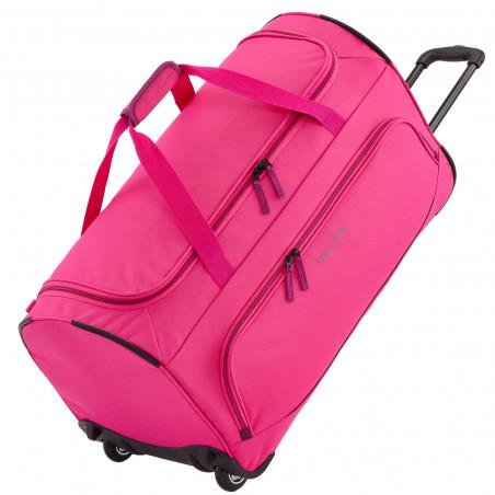 Travelite Basics Fresh Reisetasche mit Rollen Rosa