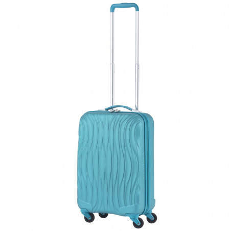 CarryOn Wave Handgepäck Trolley Türkis