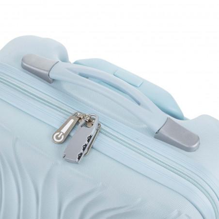 CarryOn Wave Handgepäck Trolley 55cm Baby Blau