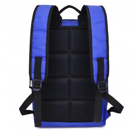Decent Backside 6001 Laptop Rucksack Blau