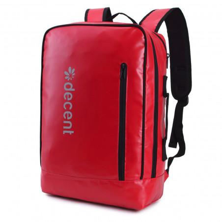 Decent Backside 6001 Laptop Rucksack Rot