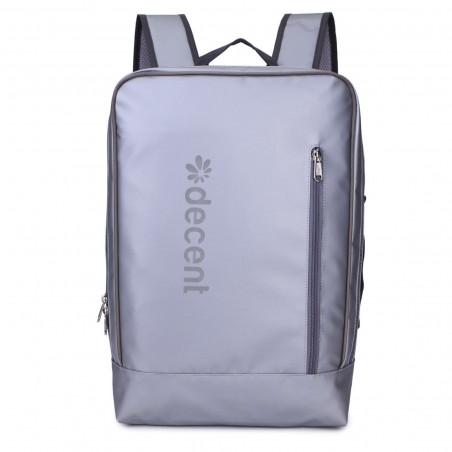 Decent Backside 6001 Laptop Rucksack Silber