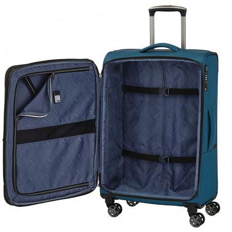 Titan Nonstop 4 Wiel Handgepäck Koffer 55cm Rot
