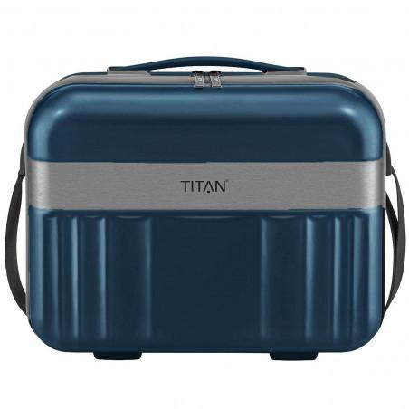 Titan Spotlight Flash Beautycase North Sea Blau