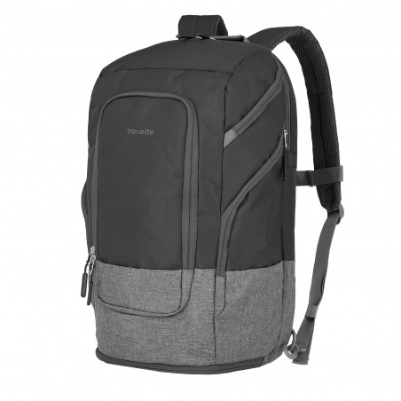Travelite Basics Laptoprücksacke L Schwarz