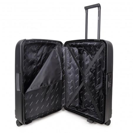 Decent Transit Handgepäck Koffer 55cm Schwarz