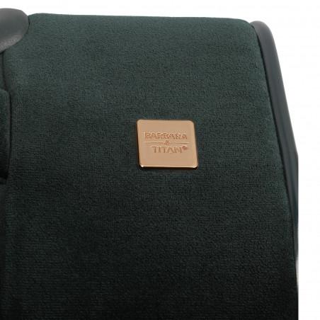 Titan Barbara Velvet 4 Rad Handgepäck Koffer 55cm Grun