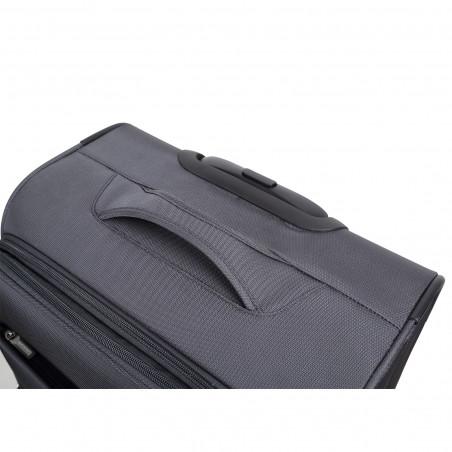 Decent D-Upright Kofferset Grau