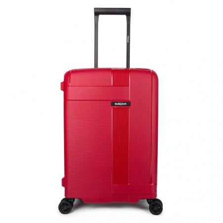 Decent Transit Handgepäck Koffer 55cm Rot